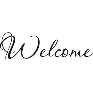 Design on Style 'Welcome' Vinyl Wall Art Quote