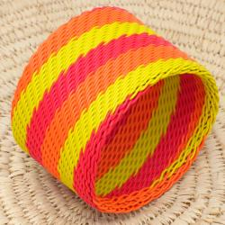Telephone Wire Sun Shine Bangle Bracelet (South Africa)