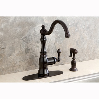 American Classic Oil-Rubbed Bronze Single-Handle Swiveling Kitchen Faucet