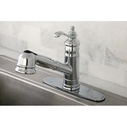 Templeton Chrome Pullout Kitchen Faucet