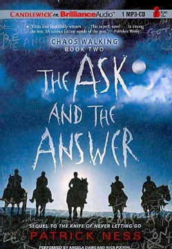 The Ask and the Answer (CD-Audio)