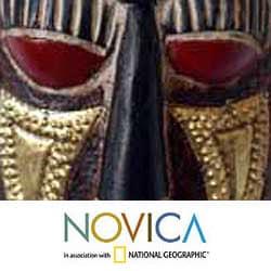 Sese Wood 'Festive Happiness' Mask (Ghana)