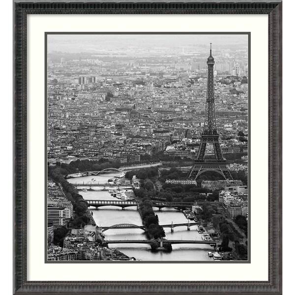 Guillaume Plisson 'Bord de Seine' Framed Art Print