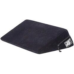 Liberator Black Microfiber 24-inch Wedge Adult Pillow