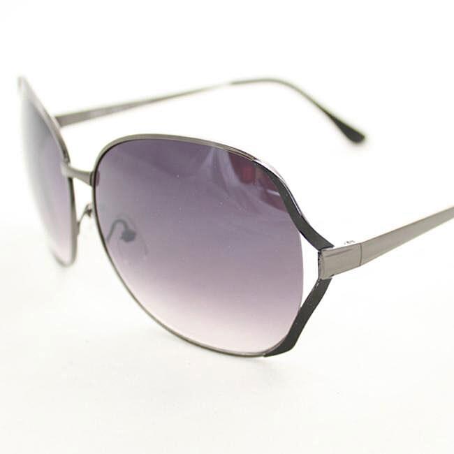 Women's M9207 Metal Round Sunglasses