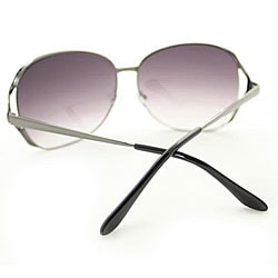 Women's M9207 Metal Round Sunglasses