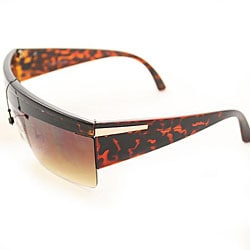 Women's P1862 Gaga Brown Square Sunglasses