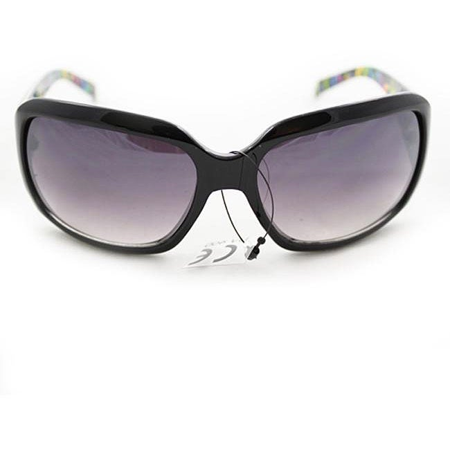 Women's P09109 Black Square Sunglasses