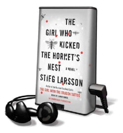 The Girl Who Kicked the Hornet's Nest: Library Edition (Pre-recorded digital audio player)