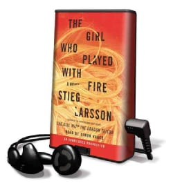 The Girl Who Played With Fire: Library Edition (Pre-recorded digital audio player)