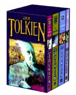 Tolkien Fantasy Tales: The Tolkien Reader/the Silmarillioon/Unfinished Tales/Sir Gawain and the Green Knight (Paperback)