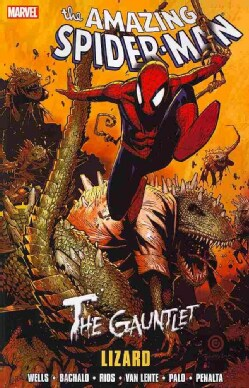 Spider-man: The Gauntlet: Lizard (Paperback)