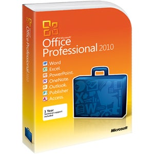 Microsoft Office 2010 Professional - Complete Product - 1 PC
