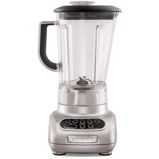 KitchenAid KSB560MC Metallic Chrome 5-speed Blender with 56-Ounce Polycarbonate Jar