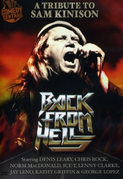 Back From Hell: A Tribute To Sam Kinison (DVD)