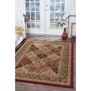 Alise Soho Multi Oriental Rug (7'10 x 10'3)