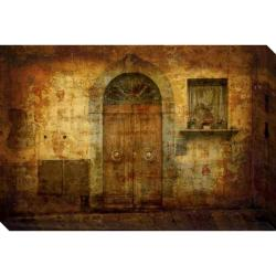 'Tuscan Doorway' Giclee Canvas Art