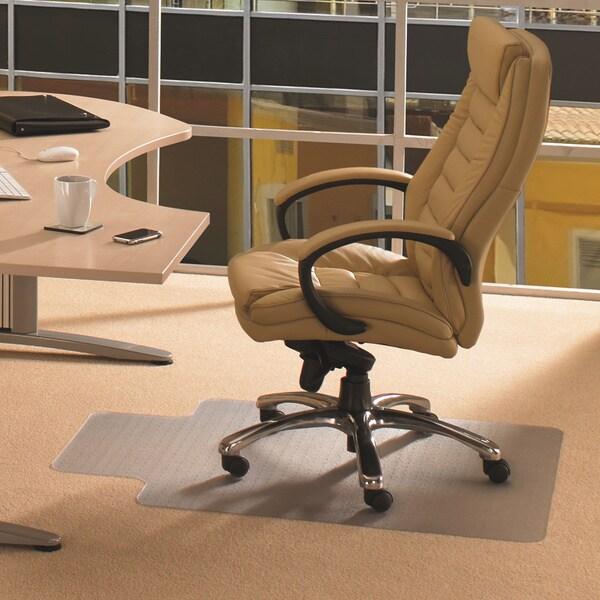 Floortex Cleartex Rectangular Advantagemat (36 x 48) for Carpet 7198909