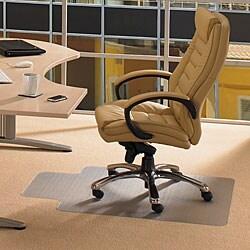 Floortex Cleartex Rectangular Advantagemat (36 x 48) for Carpet