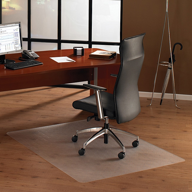 Floortex Cleartex Ultimat Chair Mat For Hard Floors (48 X 79) (Clear Clear Polycarbonate floor protection mat for use in the home or office to prevent floor wear caused by chair casters or in heavy use areas.Provides ergonomic benefits for chair user by p