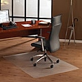 Floortex Cleartex Ultimat Polycarbonate Chair Mat. (48 x 60) for Hard Floor
