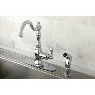 American Classic Chrome Single-handle Kitchen Faucet