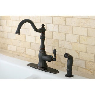 American Classic Naples Bronze Single-handle Kitchen Faucet