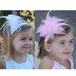 Mia Belle Baby Vintage Glamour Headband Set