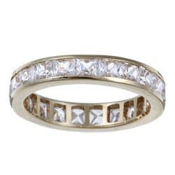 Ultimate CZ 10k Yellow Gold Cubic Zirconia Ring