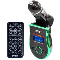 Pyle Mobile SD/ USB/ MP3/ AUX FM Green Transmitter