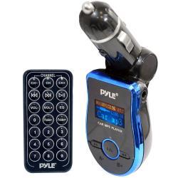 Pyle Mobile SD/ USB/ MP3/ AUX FM Blue Transmitter