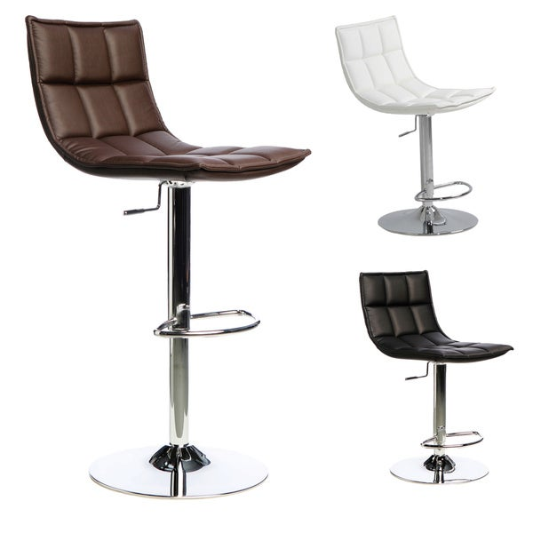 'Kube' Adjustable Height Swivel Stool