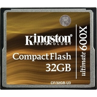 Kingston Ultimate CF/32GB-U3 32 GB CompactFlash (CF) Card