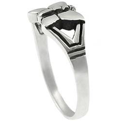 Journee Sterling Silver Butterfly Ring