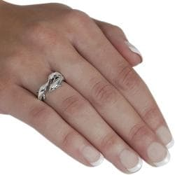 Journee Collection Sterling Silver Three Dolphins Ring