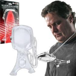 Stalwart 2-lens Hands-free Magnifier