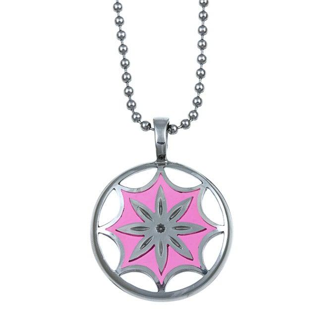 Bico Australia Silvertone Pewter Venus Blossom Necklace