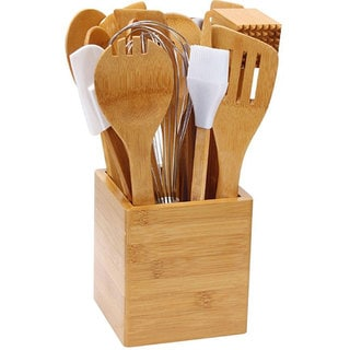 Bamboo 15-piece Kitchen Utensil Set