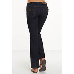 Rue Blue Women's Dark Wash Straight Leg Jeans