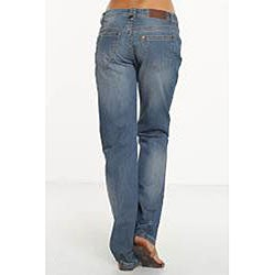 Rue Blue Women's Distressed Boyfriend Jeans