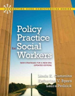 Policy Practice for Social Workers: New Strategies for a New Era (Paperback)