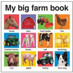 My Big Farm Book (Board book)