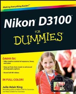 Nikon D3100 for Dummies (Paperback)