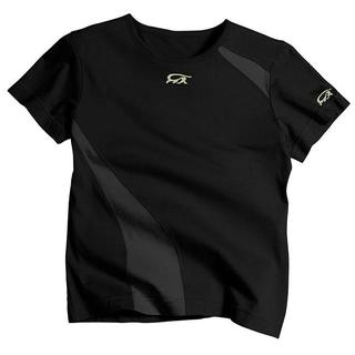 IguanaMed Women's Eclipse Black Short Sleeve Skinz T-shirt