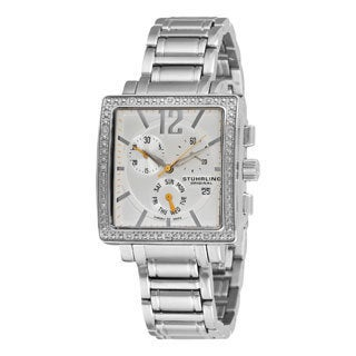 Stuhrling Original Women's Diamond Chronograph Watch