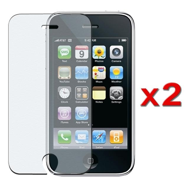 INSTEN Anti-glare Screen Protector for Apple iPhone (Pack of 2)