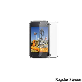 Anti-glare Screen Protector for Apple iPhone 3GS (Pack of 3)