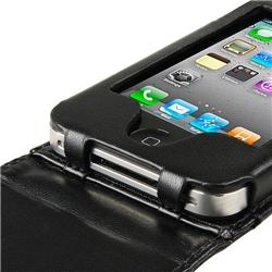 Leather Case for Apple iPhone 4