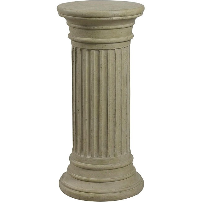 Korina indoor outdoor plant pedestal 13088343 shopping great deals on design - Plant pedestal indoor ...