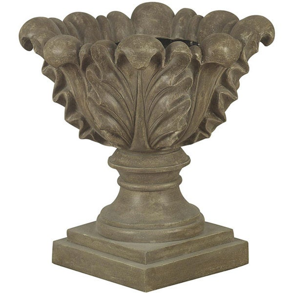 Chryssa 21-inch Tuscan Earth Finish Outdoor Planter
